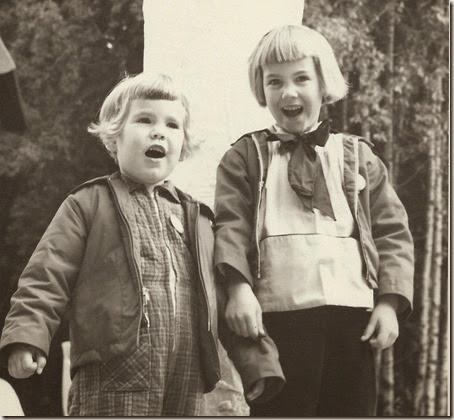 Christmas Carolers 1957