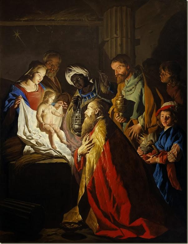Matthias Stom-Stomer, Adoration des mages 1600