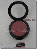 LA Colors Blusher and Deluxe Brush - BC142 - Blushing Pink