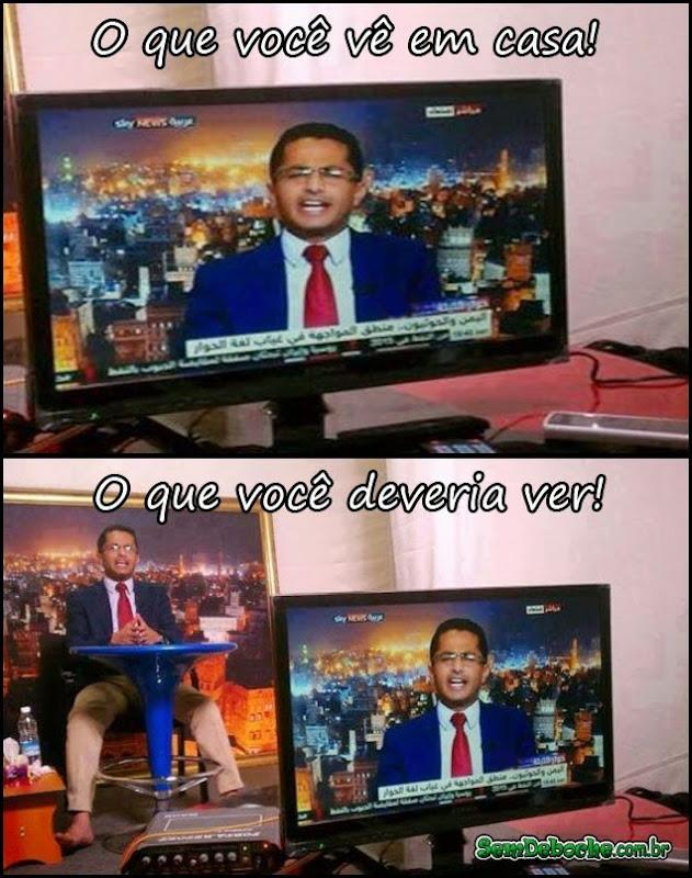 COMO REALMENTE SÃO OS PROGRAMAS DE TV!