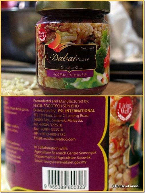 Sarawak Dabai Paste