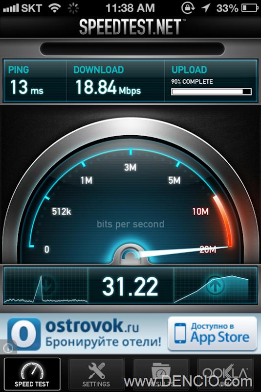 Seoul Internet Speed