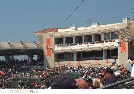 'Spring Home of the Baltimore Orioles' photo (c) 2013, Jon - license: http://creativecommons.org/licenses/by-sa/2.0/