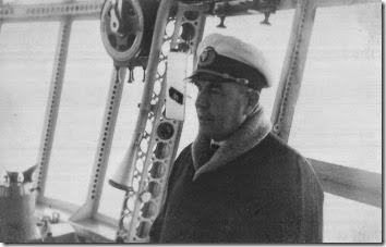 Sammt in Hindenburg control car