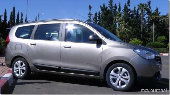 Dacia Lodgy testdagen 07