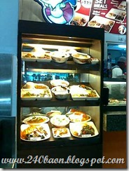 kim n chi food display, 240baon
