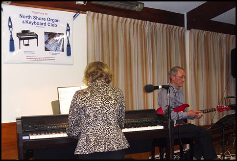Jan Johnston playing her Korg Pa1X