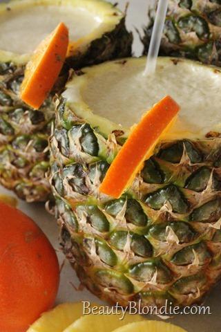 Pineapple, Orange and Banana Dreamscicle with Shaklee Vanilla Cinch