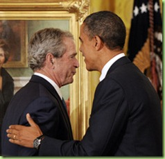 US NEWS BUSH-PORTRAITS 3 ABA
