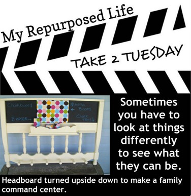 My Repurposed Life Take 2 Tuesday Headboard Memo2