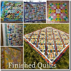 finished quilts