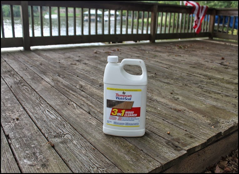 Thompson's deck cleaner