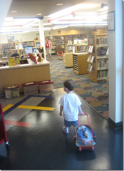 09 08 12 - Going to the library for the first time (5)