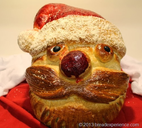Whisker's Santa Bread