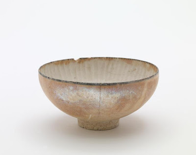 Bowl | Origin:  Iran | Period: late 13th century  Il-Khanid period | Details:  Not Available | Type: Stone-paste under glaze with painted decoration and overglazed with gold | Size: H: 5.9  W: 12.2  cm | Museum Code: F1909.132 | Photograph and description taken from Freer and the Sackler (Smithsonian) Museums.