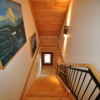 Stairs loft to main