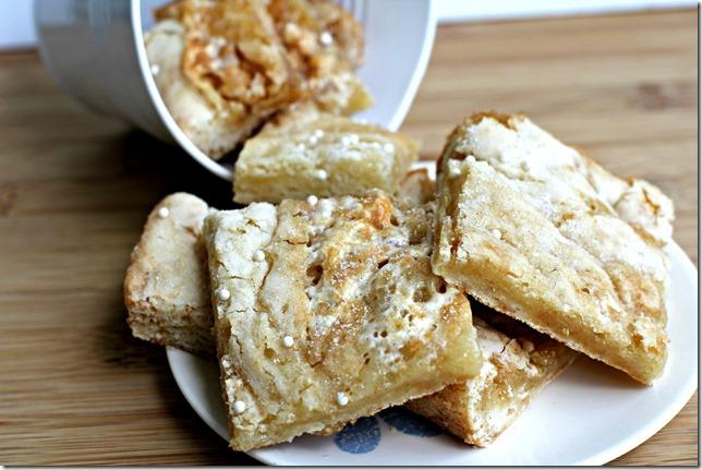 ... of Sugar Plum: Toasted Marshmallow Vanilla Bean Sugar Cookie Bars