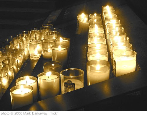 'prayer candles.JPG' photo (c) 2006, Mark Barkaway - license: http://creativecommons.org/licenses/by-nd/2.0/