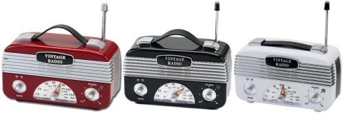 40s vintage radios