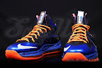 nike lebron 10 ps elite blue black 1 01 Release Reminder: Nike LeBron X P.S. Elite Superhero