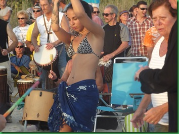 Saturday Full Moon & drumming 079