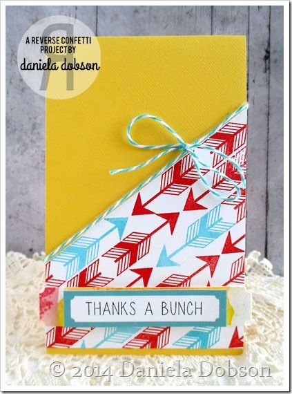 Thanks a bunch by Daniela Dobson