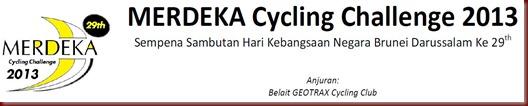 Merdeka Cycling Challenge Banner