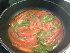 timbal de arroz con pollo y verduras