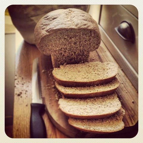 #133 - healthy poppy seed bread