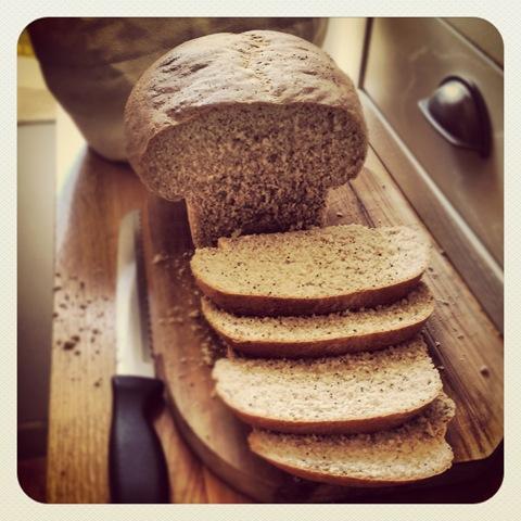 #133 - healthy poppy seed bread