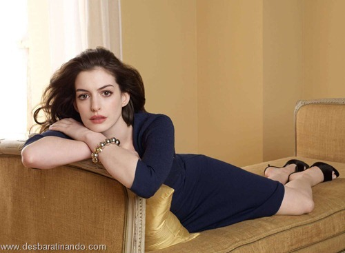 anne hathaway linda sensual sexy desbaratinando  (48)