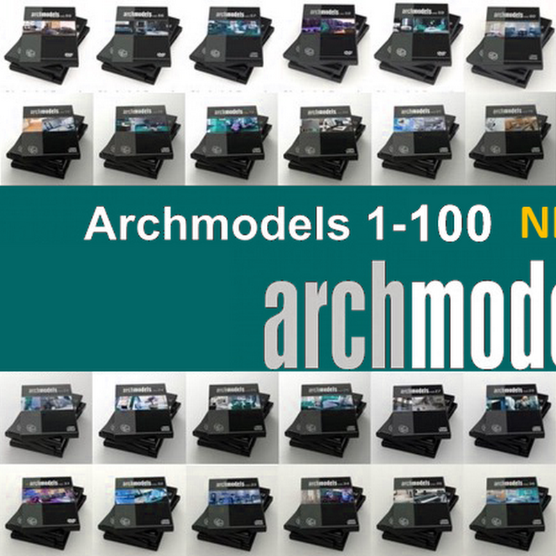 Archmodels Mega New Collection (Vol1-100)