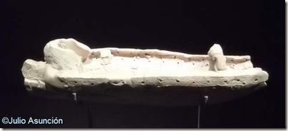 Barco púnico de terracota encontrado en el Cerro de las Balsas - MARQ