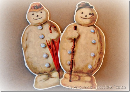 Stickles Snowmen
