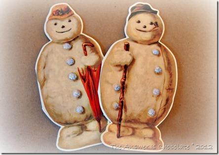Stickles Snowmen