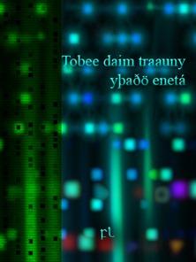 Tobee daim traauny yþaðö enetá Cover