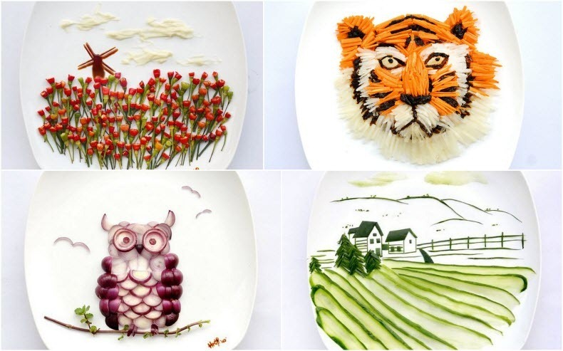 Creative Food Art by Hong Yi | Amusing Planet