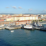 Kreuzfahrt 2007 MSC Melody Ausschiffen Livorno