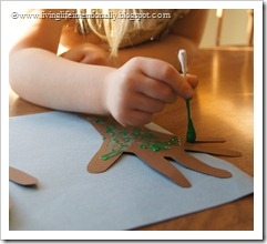 Season Hand Art Craft for Kids