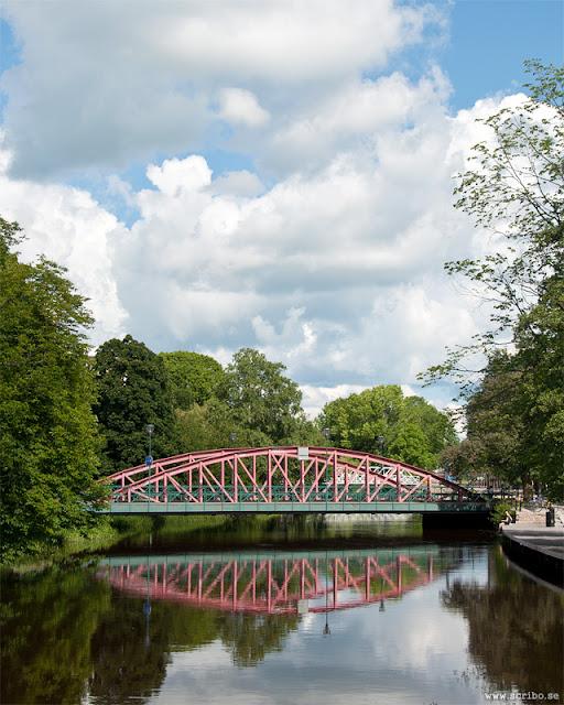 Haglunds bro sedd från söder