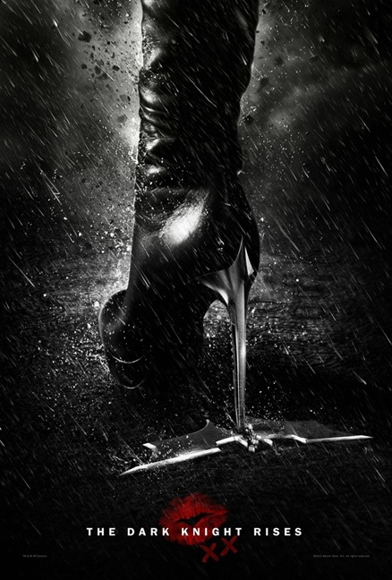 The Dark Knight Rises secret poster