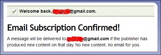 Як оформити підписку через E-mail?