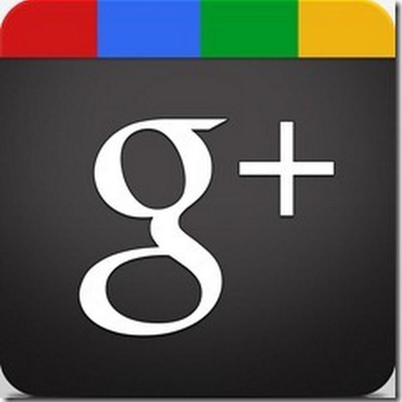 Collegati a Google+: sostituisci il profilo Blogger con il profilo Google+ pubblico.