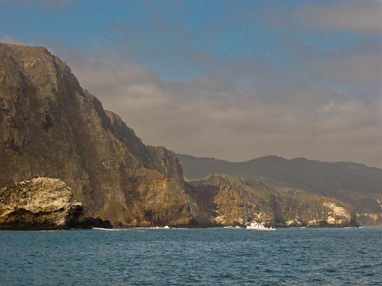 Island Packers boat trip to Santa Cruz Island