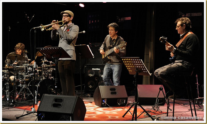 Roger Blàvia Quartet, Terrassa 2013