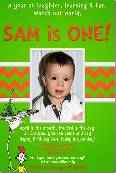 SAM I AM invite 5A Sam 6