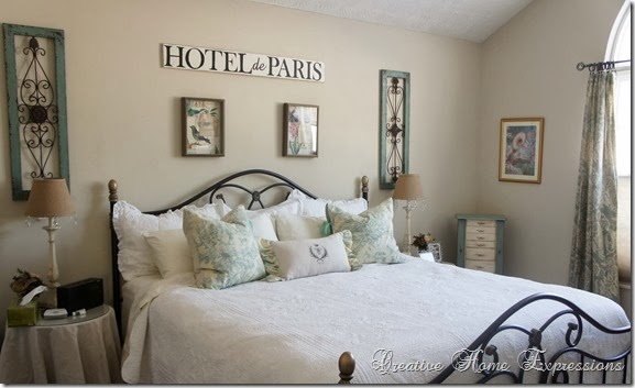 Master Bedroom Updates creative home expressions: master bedroom updates ~ on a budget