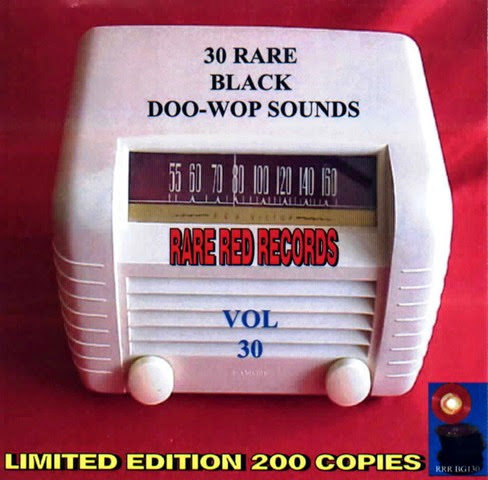 Rare Black Doo-Wop Sounds Vol. 30 - 31 - Front