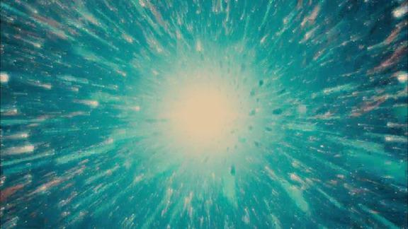 Al inicio del universo todo era macrobloques...