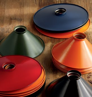A sample of the colorful metal shades available.
